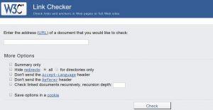 validator check link