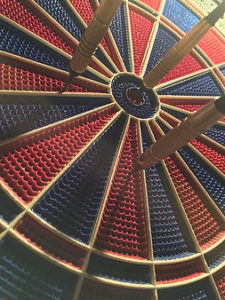 dartboard with target idea of improving your business