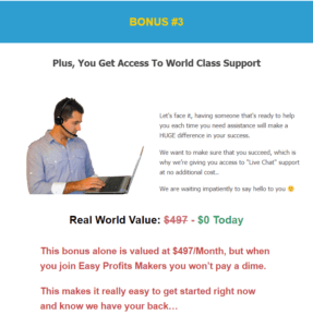 easy profits makers bonus3