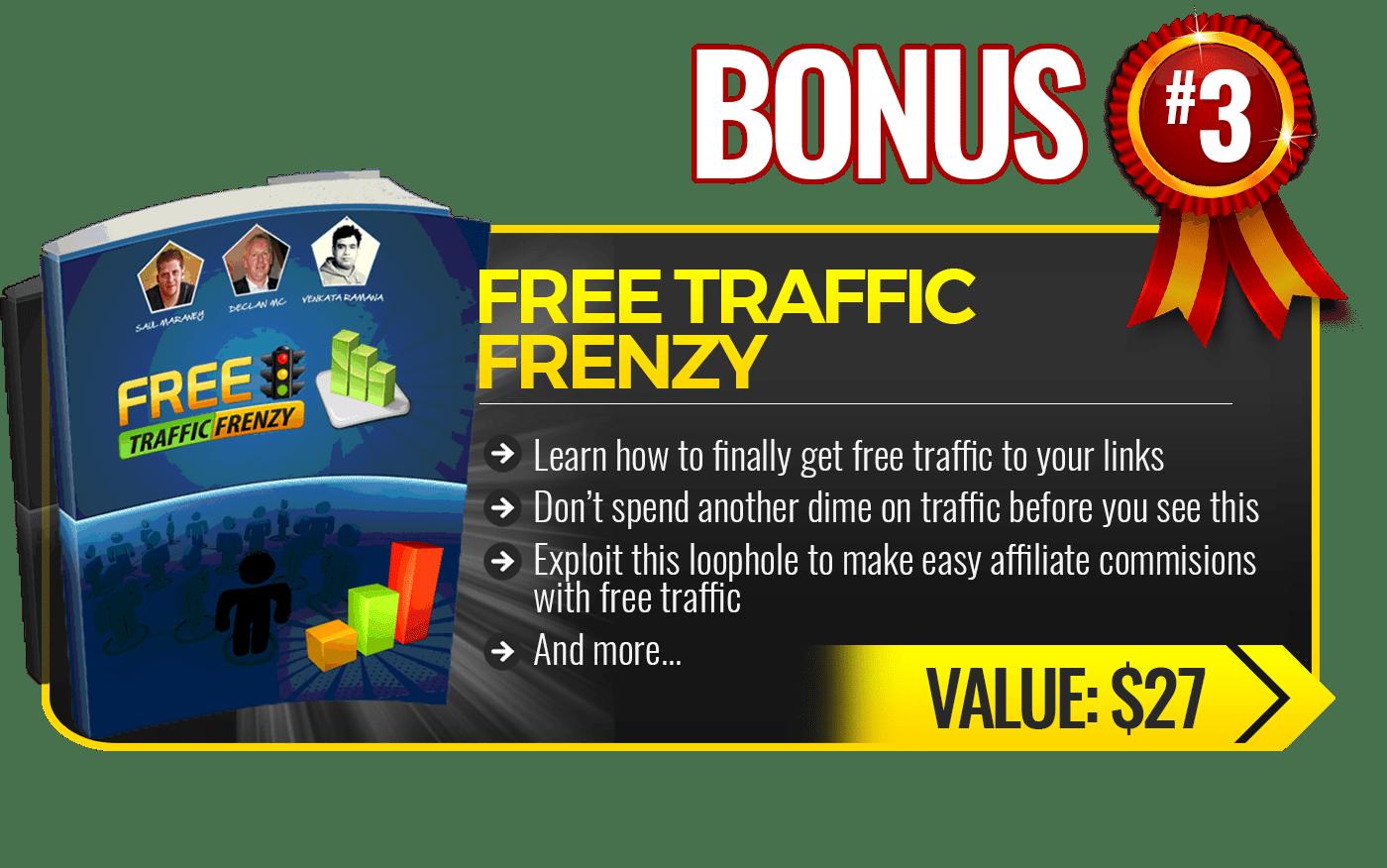 free frenzy traffic bonus3