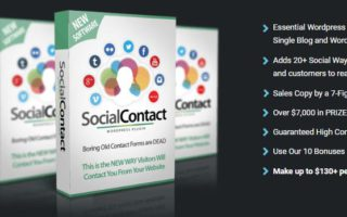 wp social contact box image
