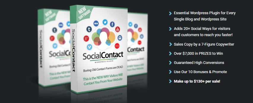 WPSocialContact-image features