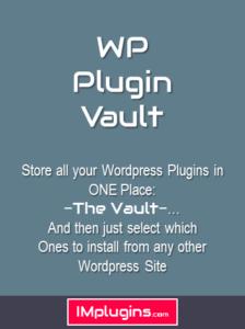 wp plugin vault