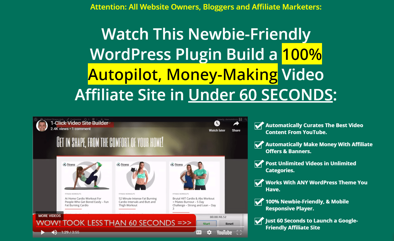 WP1clickvideositebuilder