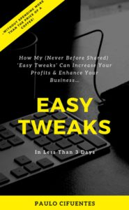 easy tweaks ebook