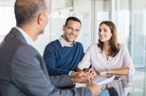 couple consultation with financial expert