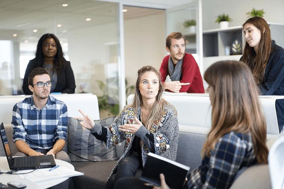 workplace-team-business-meeting- increase work efficiency