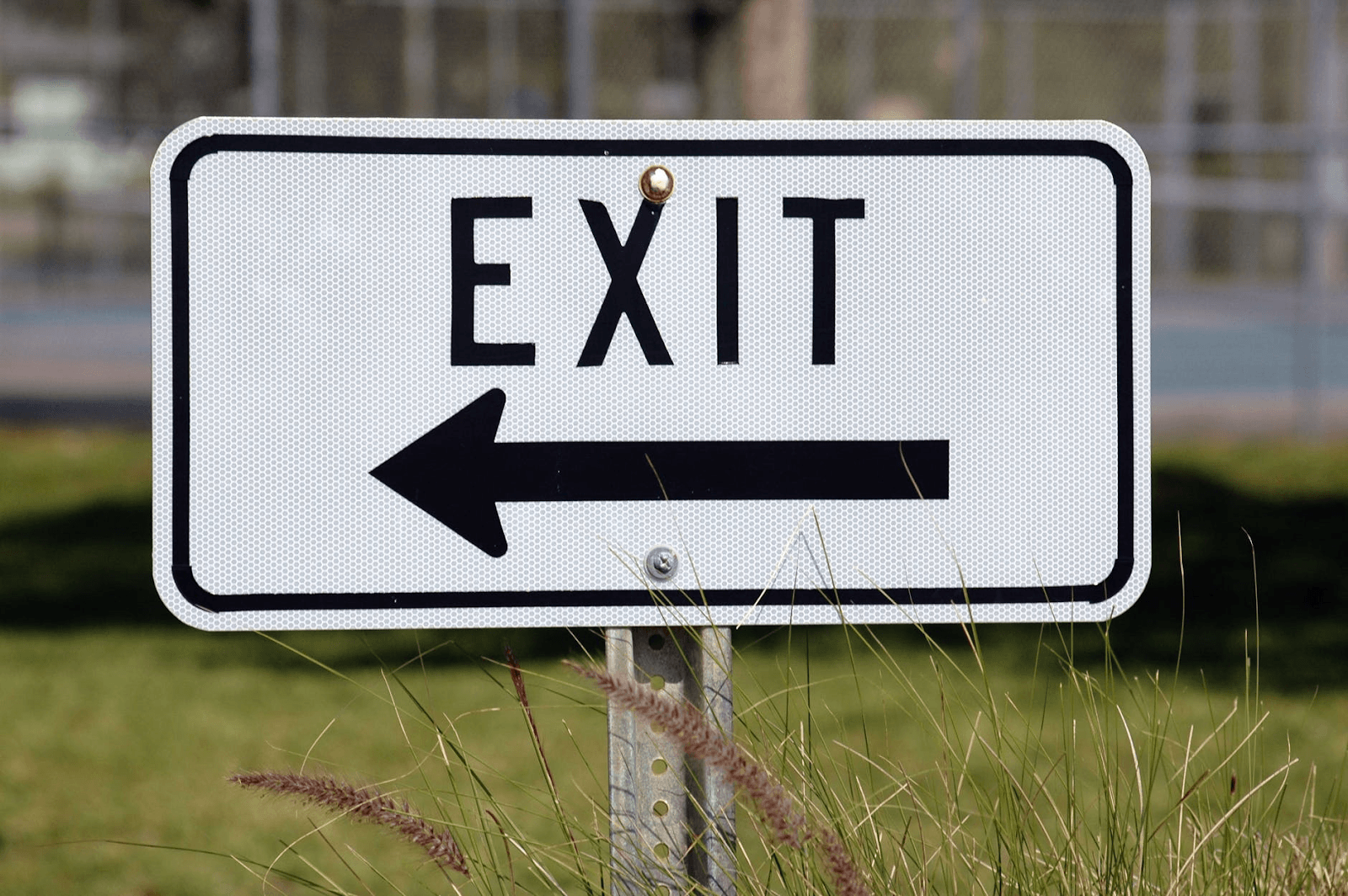 arrow-communication-direction-display need an exit strategy